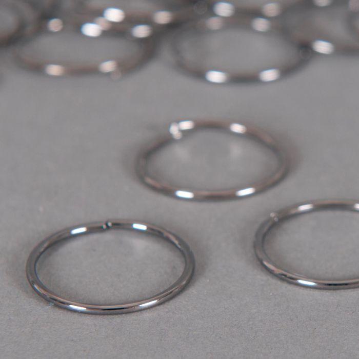Anneaux ronds ouverts 18 mm x10