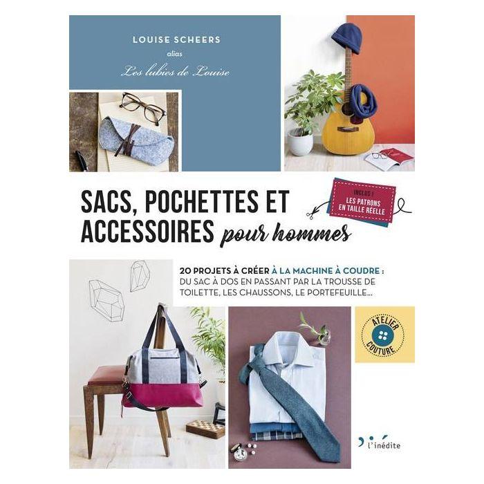Sacs, pochettes et accessoires pour hommes / Louise Scheers