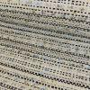 Tissu tweed bleu - blanc cassé x 10 cm