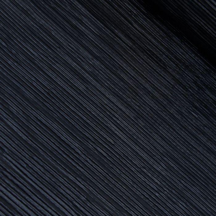 Tissu plissé - bleu marine x 10 cm