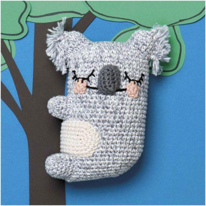 Kit crochet amigurumi Ricorumi - koala