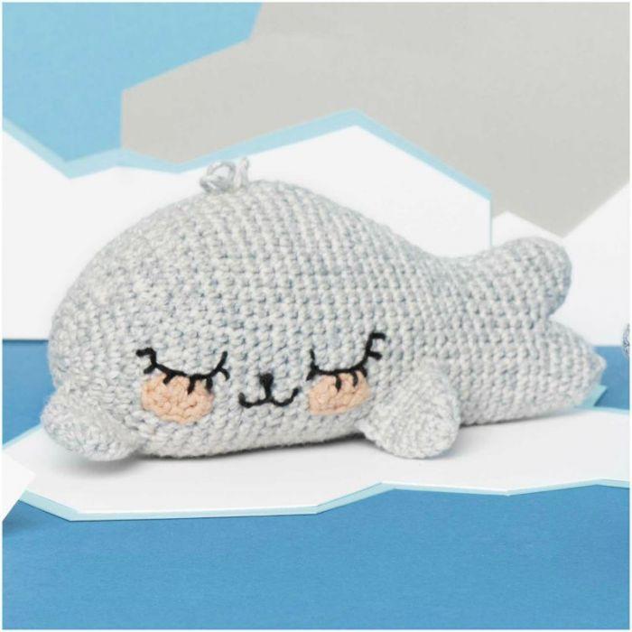 Kit crochet amigurumi Ricorumi - phoque