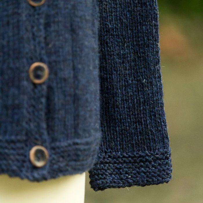 Kit tricot : veste Humus - Lucile Francomme