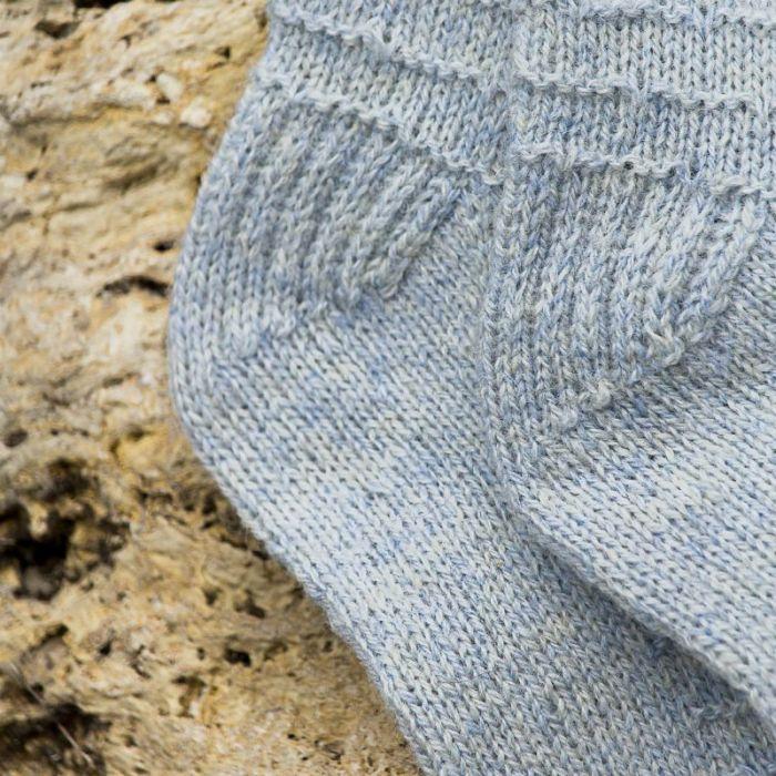 Kit tricot : Chaussettes Granite - Lucile Francomme