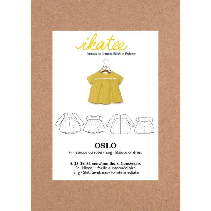 Blouse robe Oslo - Ikatee