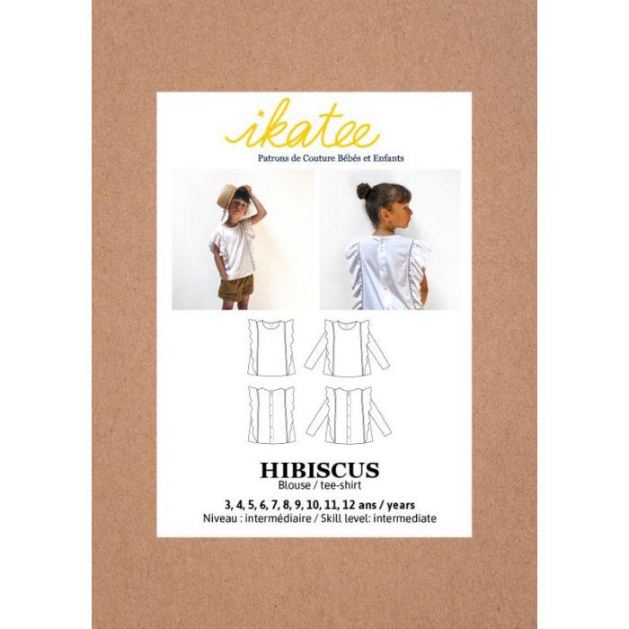 Blouse Hibiscus - Ikatee