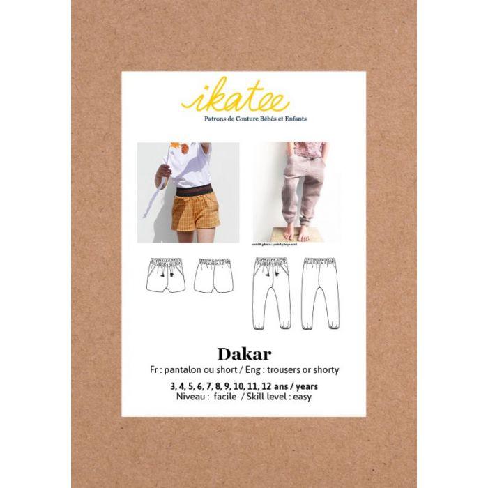 Pantalon Dakar - Ikatee
