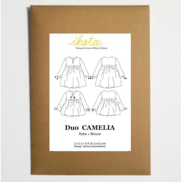 Duo Blouse Camélia - Ikatee