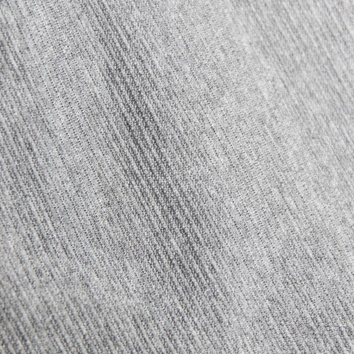 Coupon x 2 m - Tissu tricot gris La Maison Victor