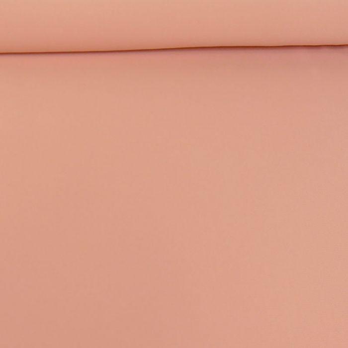 Tissu crêpe légère stretch - rose x 10 cm