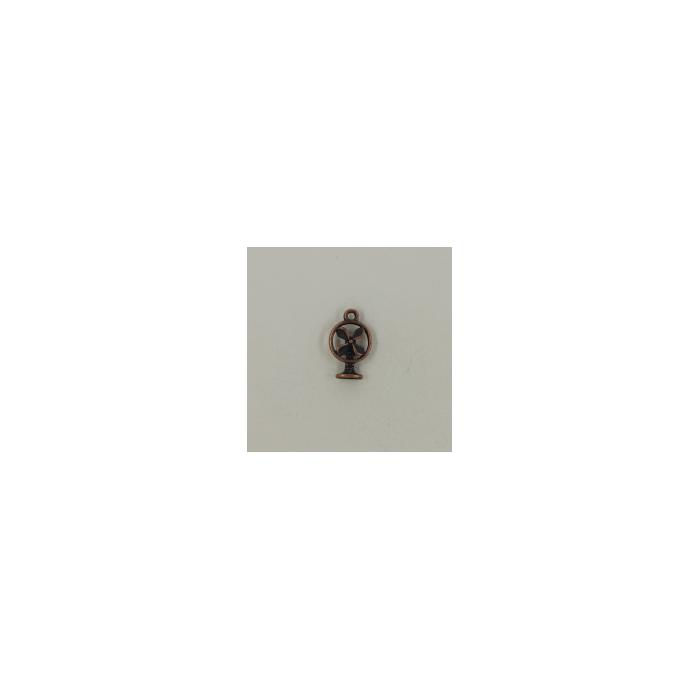 Breloque ventilateur 18mm cuivre x1