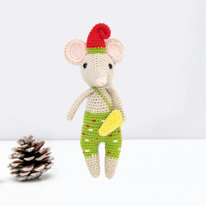 Kit crochet amigurumi Ricorumi - souris
