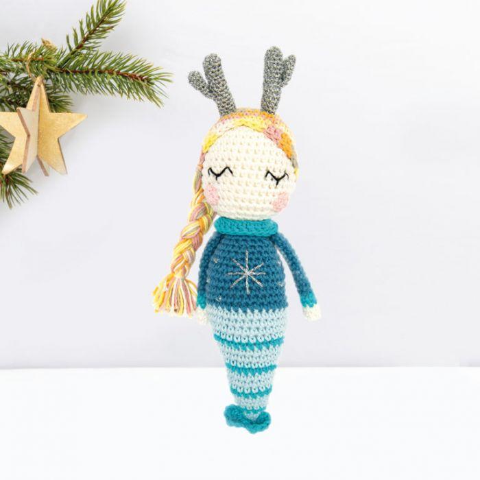 Kit crochet amigurumi Ricorumi - sirène