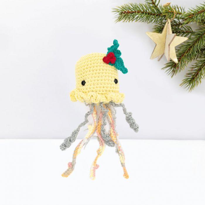 Kit crochet amigurumi Ricorumi - méduse