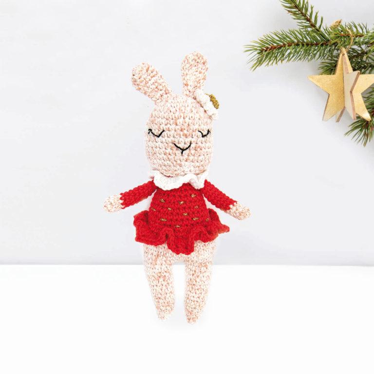 Adorable lapin câlin amigurumi en coton pour bébé, en cadeau d ... | 768x768