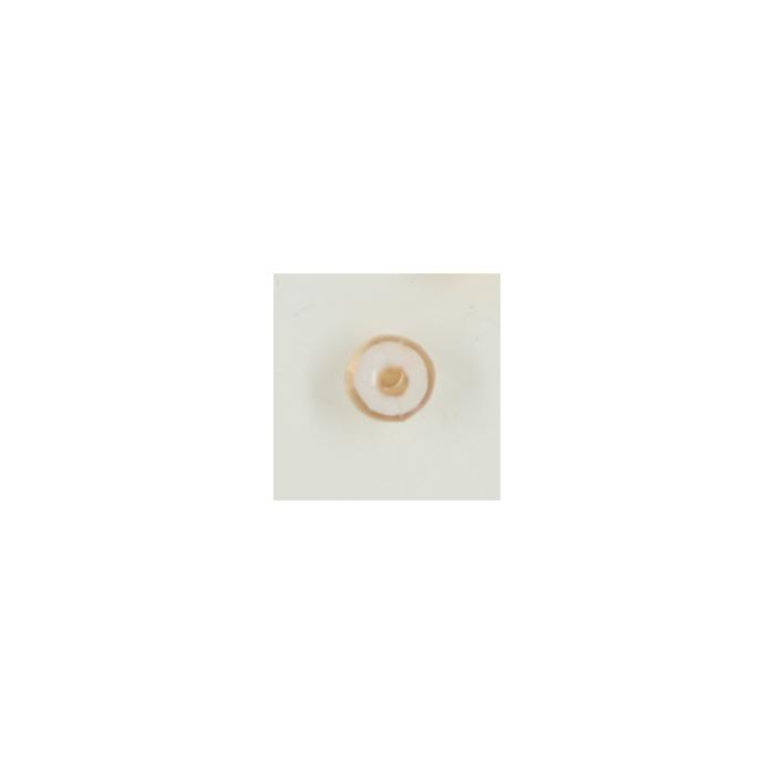 Perle en résine ronde 8mm beige x10