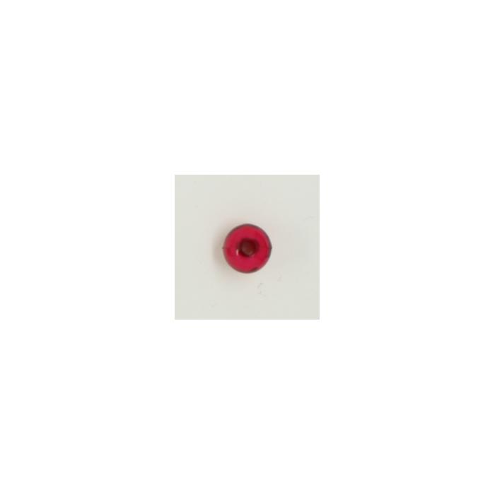 Perle en résine ronde 8mm bordeaux x10
