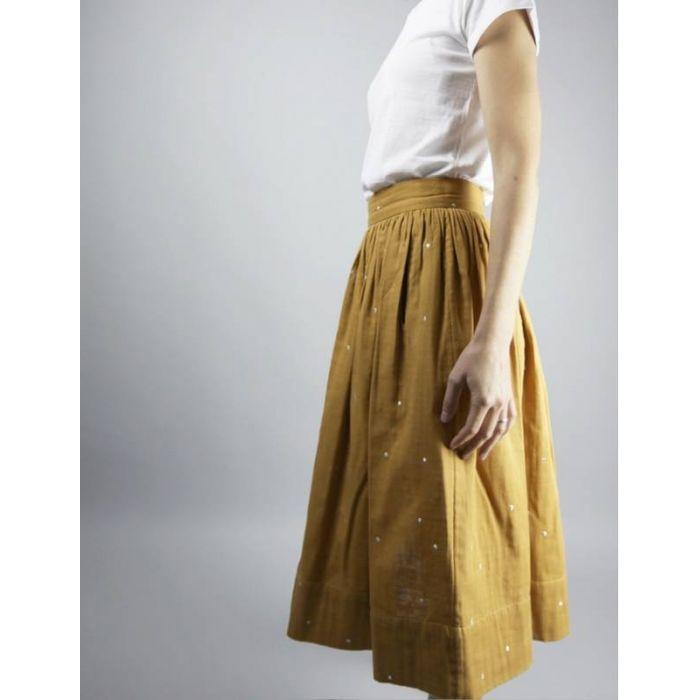 Kit jupe arpège - Atelier Scammit (patron + tissus)