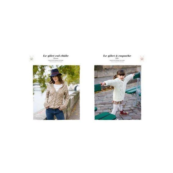 Pulls irlandais à tricoter / Phildar