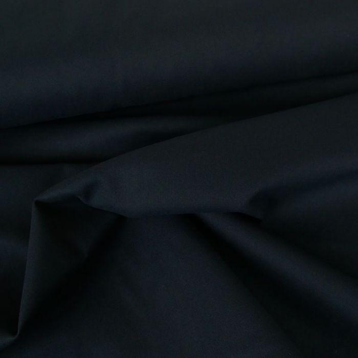 Tissu coton uni - bleu marine x 10 cm