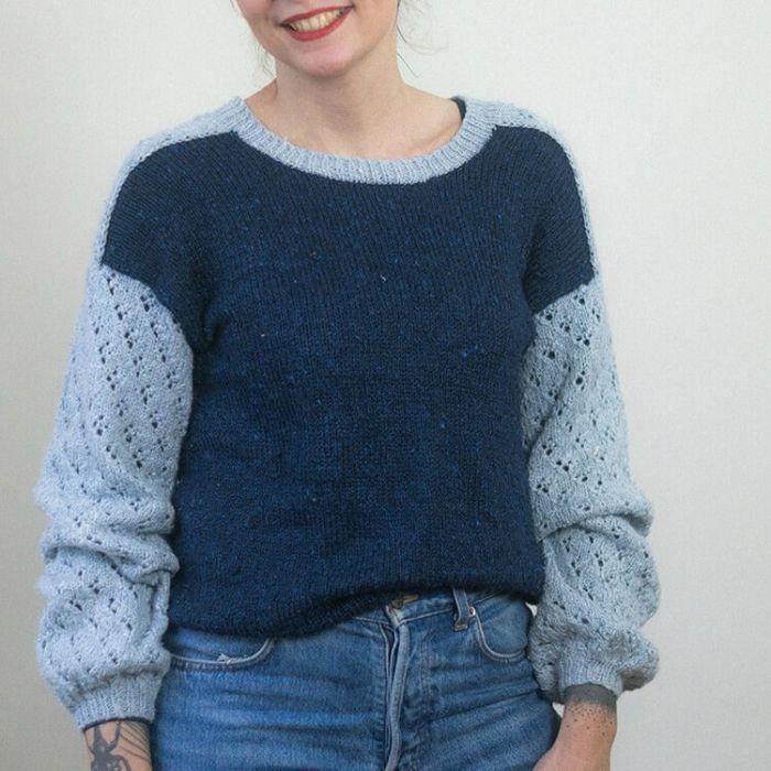 Kit tricot : pull Daisy - Alice Hammer