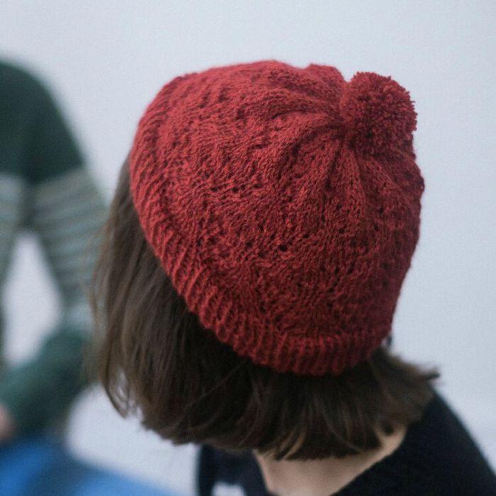 Kit tricot : Bonnet Anita - Alice Hammer