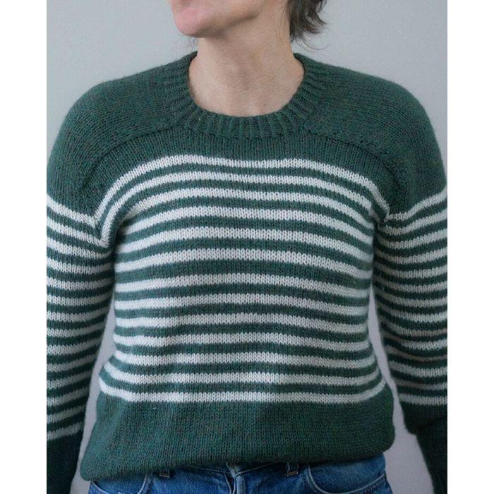 Kit tricot : pull marinière Ben - Alice Hammer