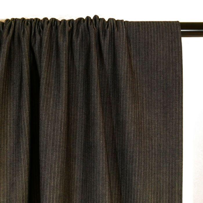 Coupon x 50 cm - Tissu Jean denim texturé gris