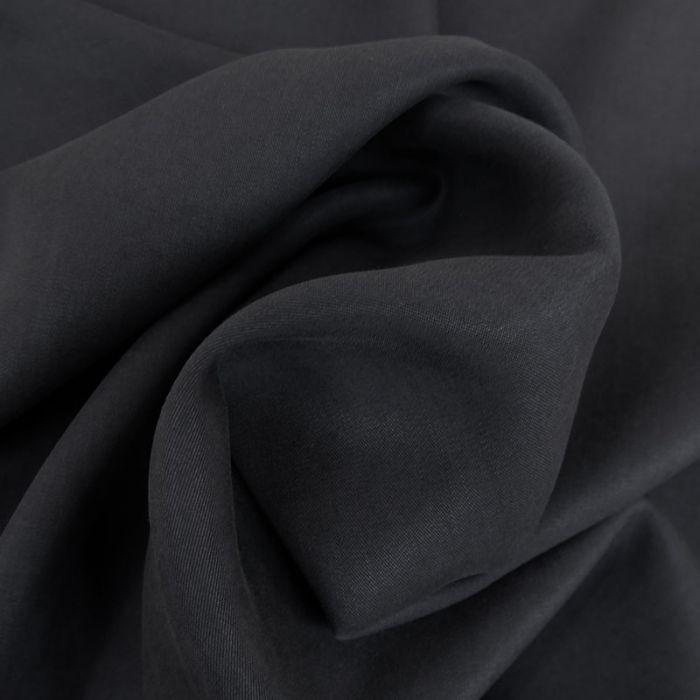 Tissu tencel - bleu foncé x 10 cm