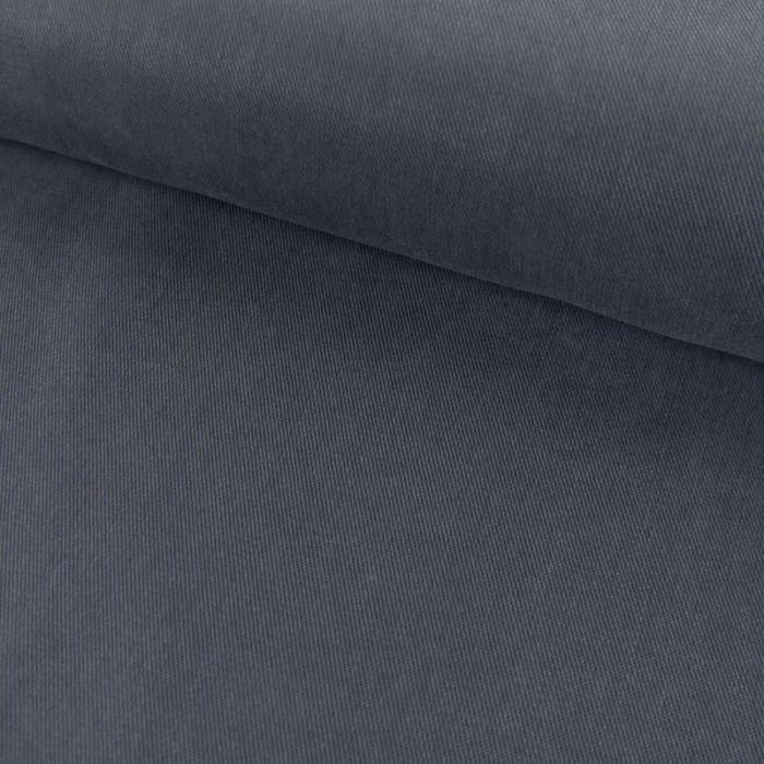 Tissu tencel - bleu denim x 10 cm