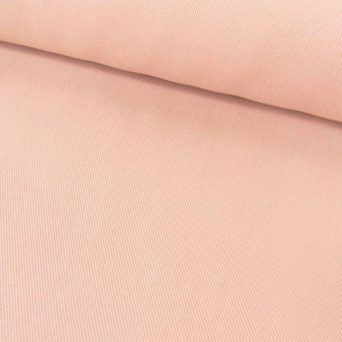 Tissu viscose cupro uni - rose x 10 cm