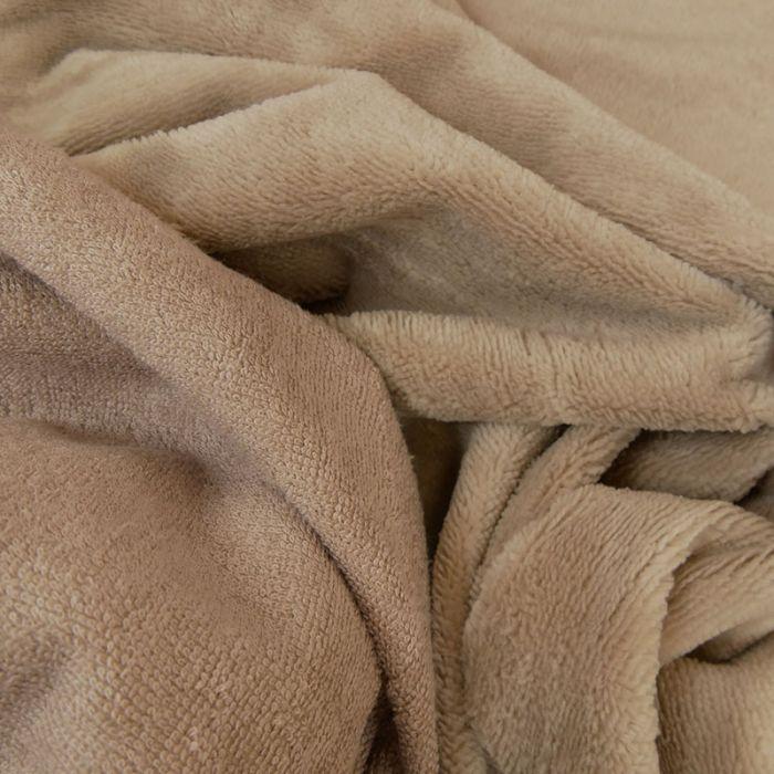 Tissu micro éponge bambou Oeko-Tex - galet x 10 cm