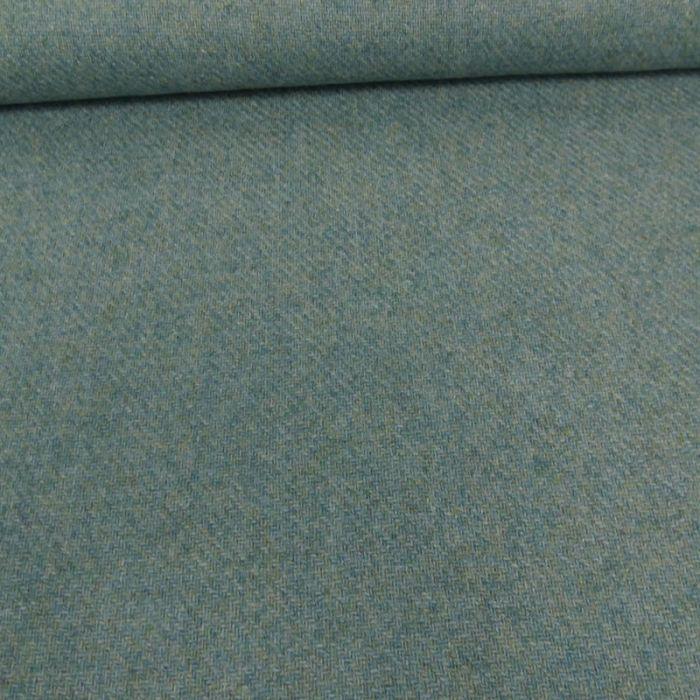 Tissu lainage texturé - vert d'eau x 10 cm