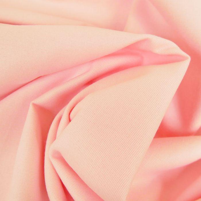 Tissu flanelle coton uni - poudre x 10 cm
