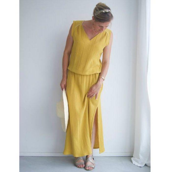 Kit robe longue Suun - double gaze - P&M