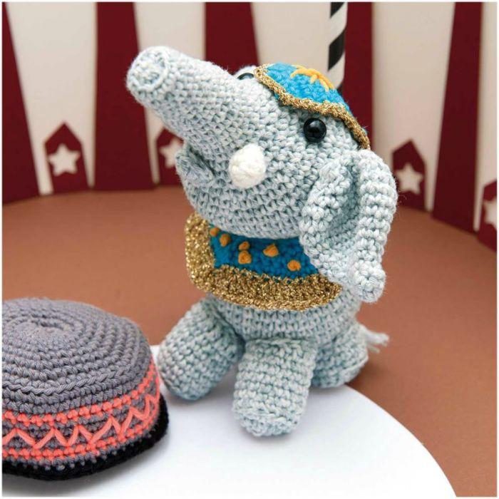 Kit crochet amigurumi Ricorumi - éléphant