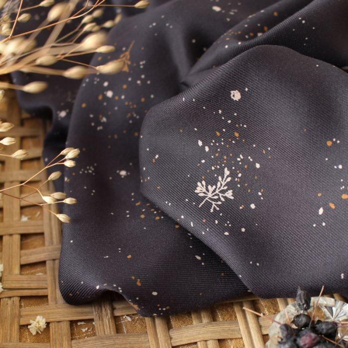 Tissu Twig Night - Atelier Brunette x 10 cm