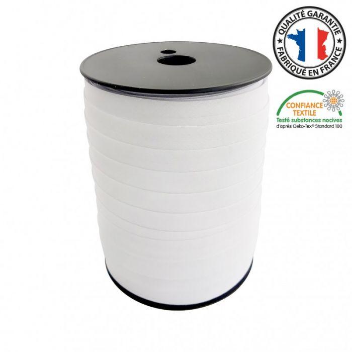 Biais replié toutextile - Blanc x 5 m