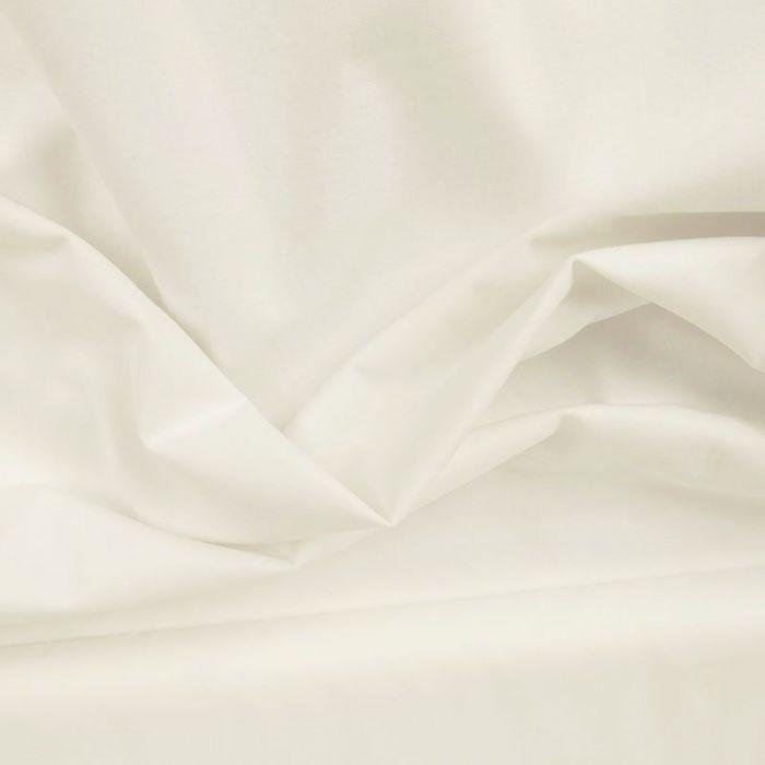 Tissu toile à drap - Blanc x 10 cm