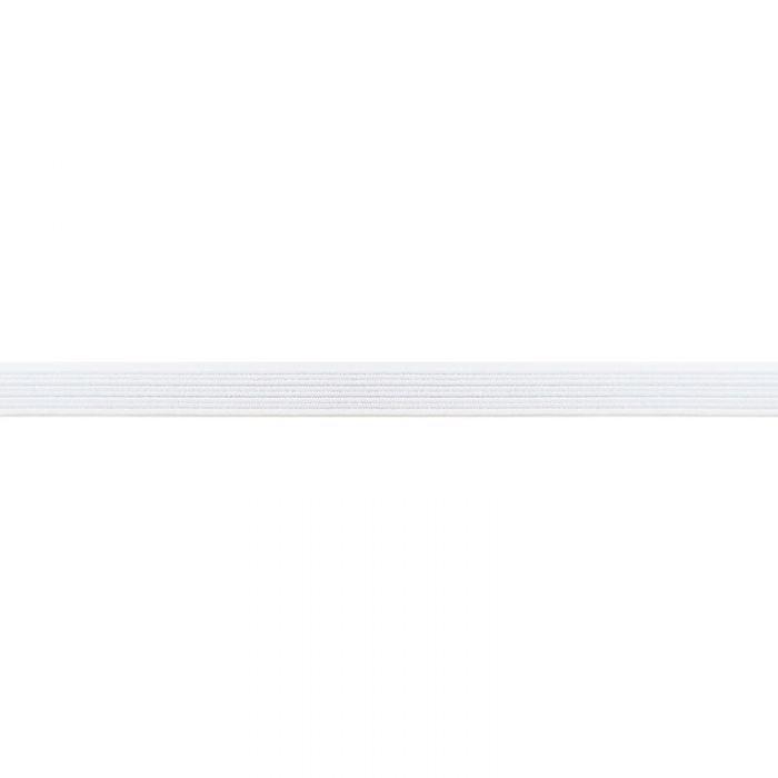 Élastique côtelé blanc x 5 m