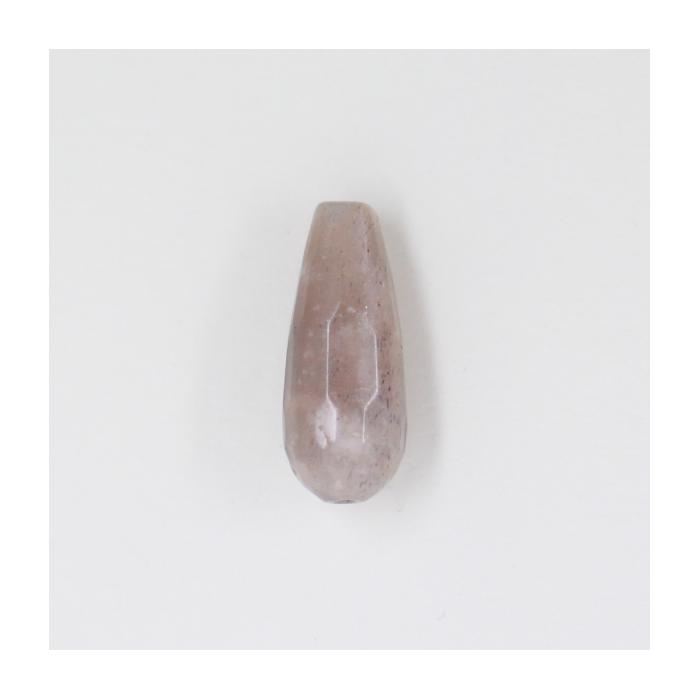 Pierre du Soleil : perle goutte à facettes 20/8mm x1