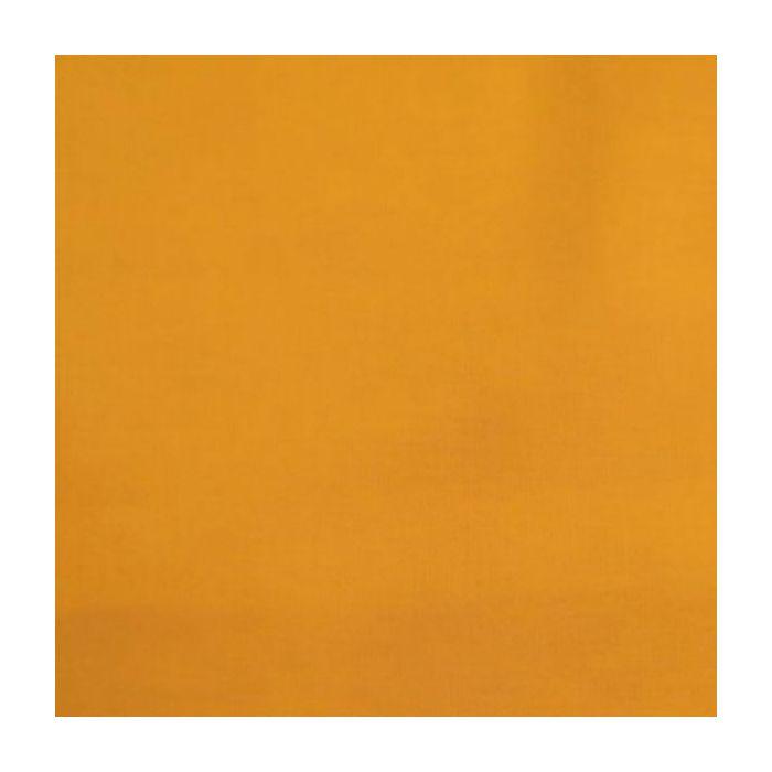Tissu coton uni - safran x 10 cm