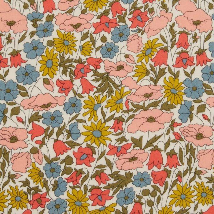 Tissu Liberty of London Poppy and Daisy A x 10 cm