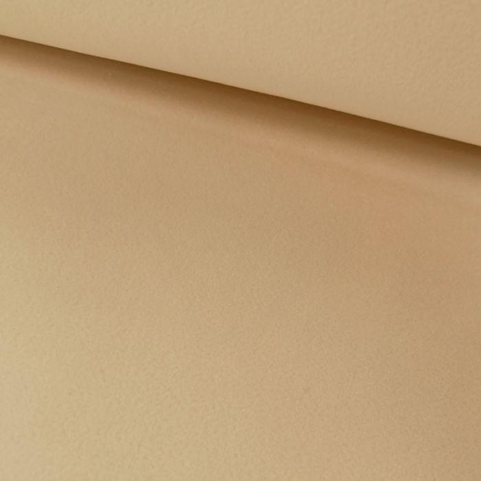 Tissu velours - ivoire x 10 cm