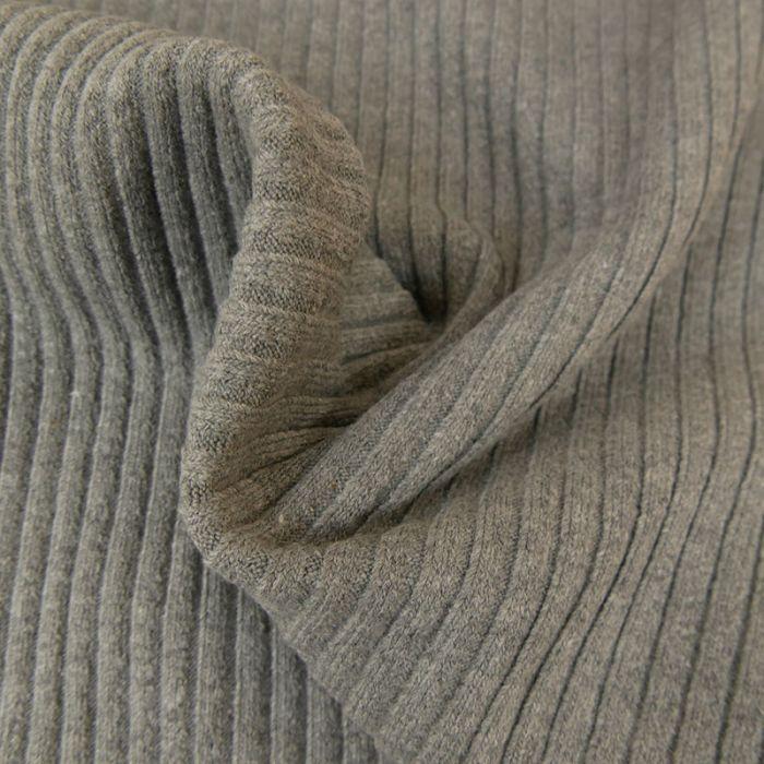 Bord-côte épais tubulaire côtelé OEKO-TEX x 10 cm