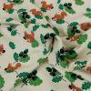 Tissu jersey fin écureuils - écru x 10 cm