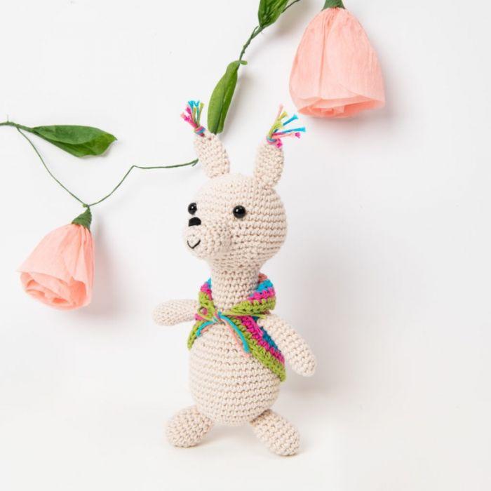 Kit crochet amigurumi Ricorumi - lama