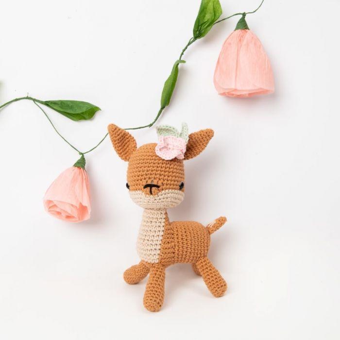 Kit crochet amigurumi Ricorumi - chevreuil