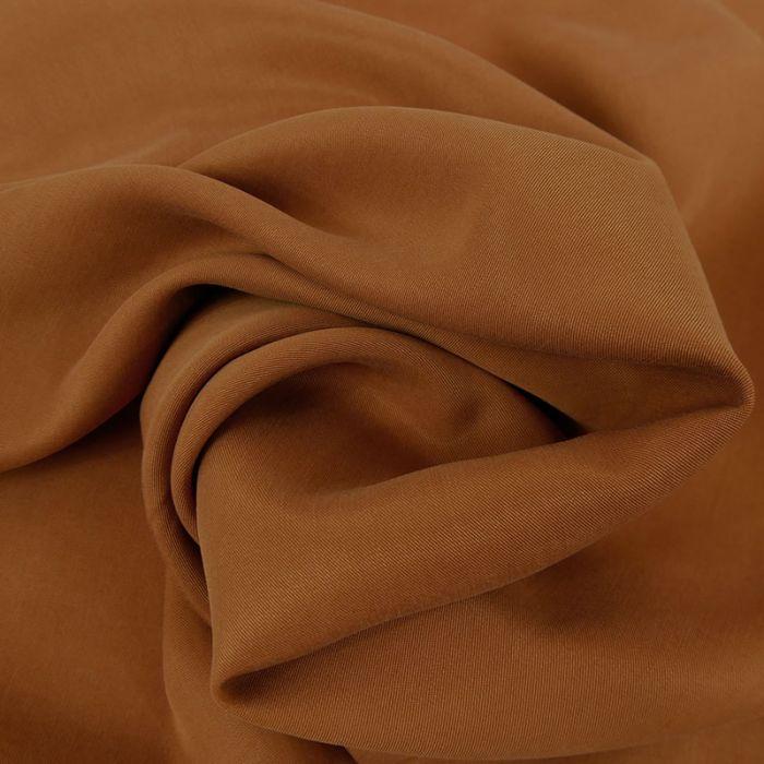 Tissu tencel - camel x 10 cm