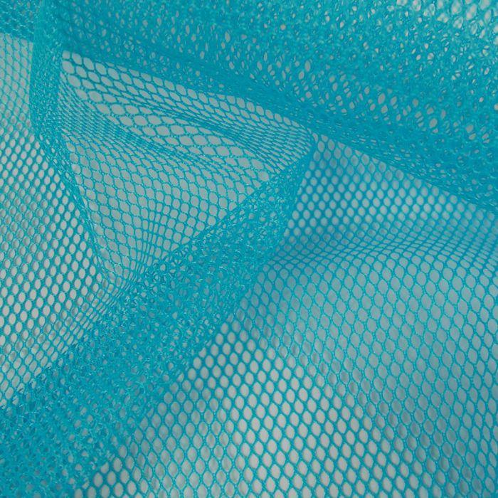 Tissu filet mesh - bleu clair x 10 cm